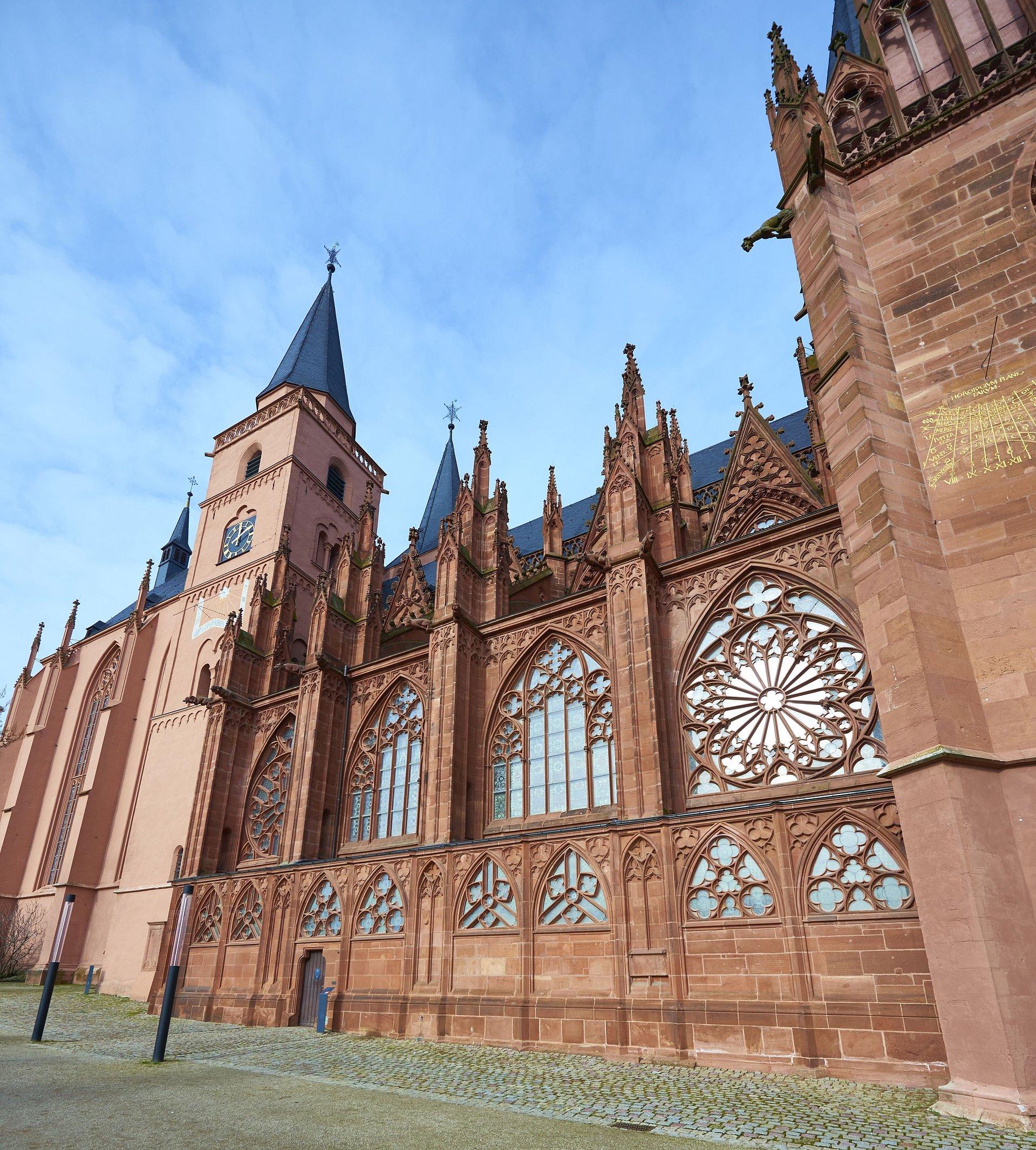 Katharinenkirche in Oppenheim, Rheinhessen