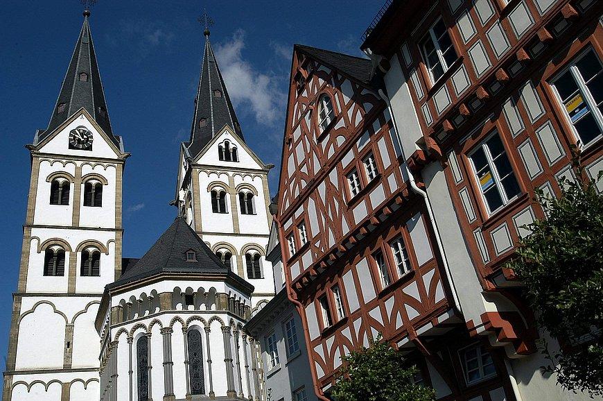 L'église paroissiale Saint-Séverin de Boppard, Rhin romantique
