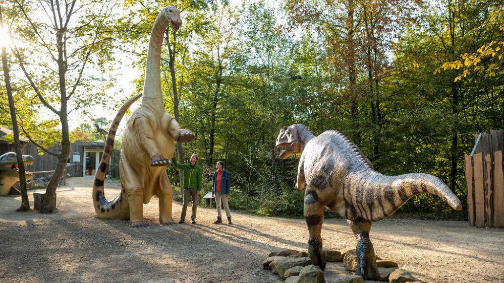 Dinosaurierpark Teufelsschlucht, Eifel