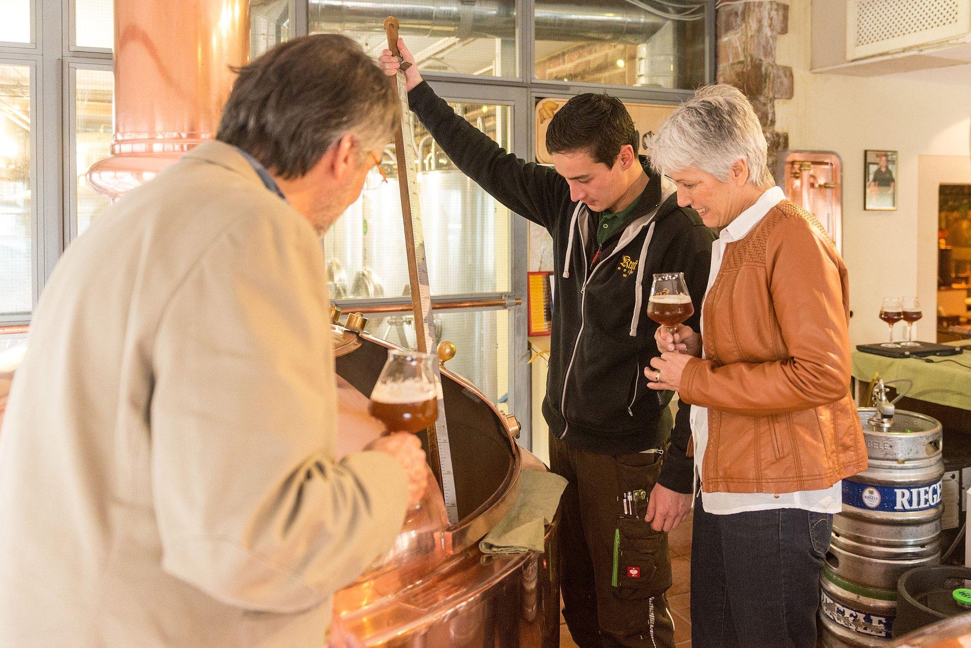 Brauereibesichtigung mit Braumeister