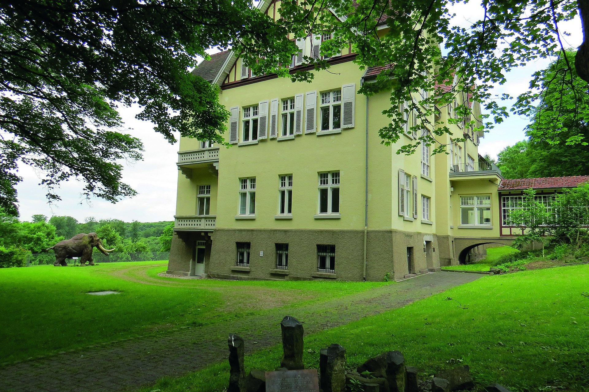 Barockes Schloss Monrepos der Fürsten zu Wied, Romantischer Rhein