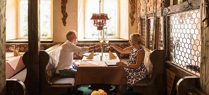 Visite d'un restaurant à Bernkastel-Kues, vallée de la Moselle