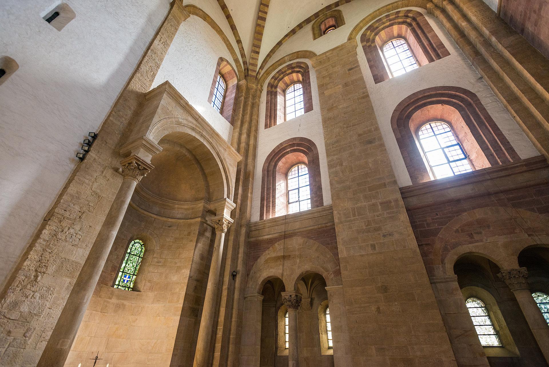 Interieur van de kathedraal van Speyer, Palts