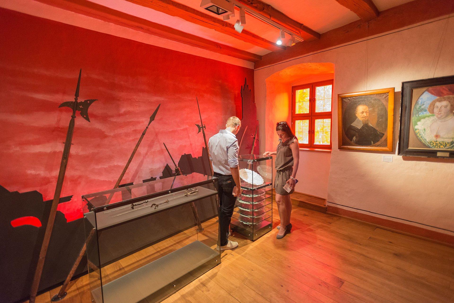Tentoonstelling in het Museum Grafenschloss Diez, Lahndal