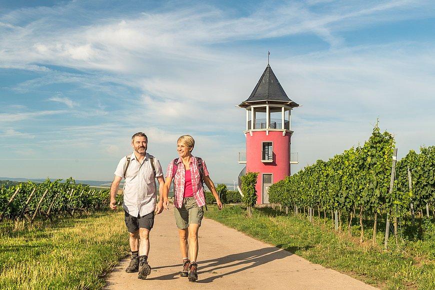 Wanderung auf der Hiwweltour Neuborn, Rheinhessen