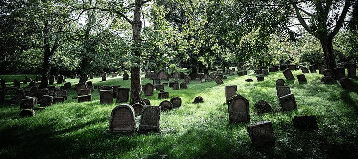 Le cimetière juif de Worms, Hesse Rhénane