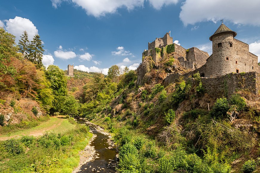 Castles of Manderscheid, Eifel