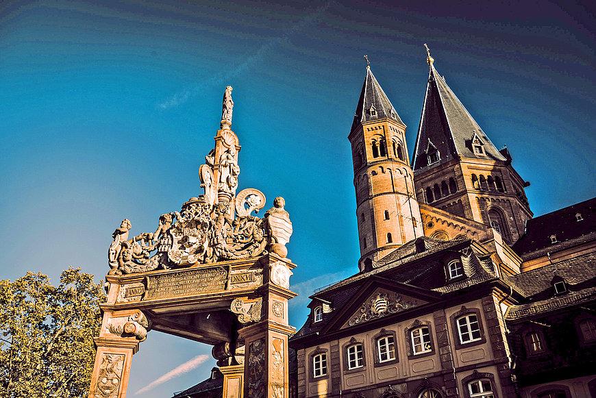 Dom St. Martin in Mainz, Rheinhessen
