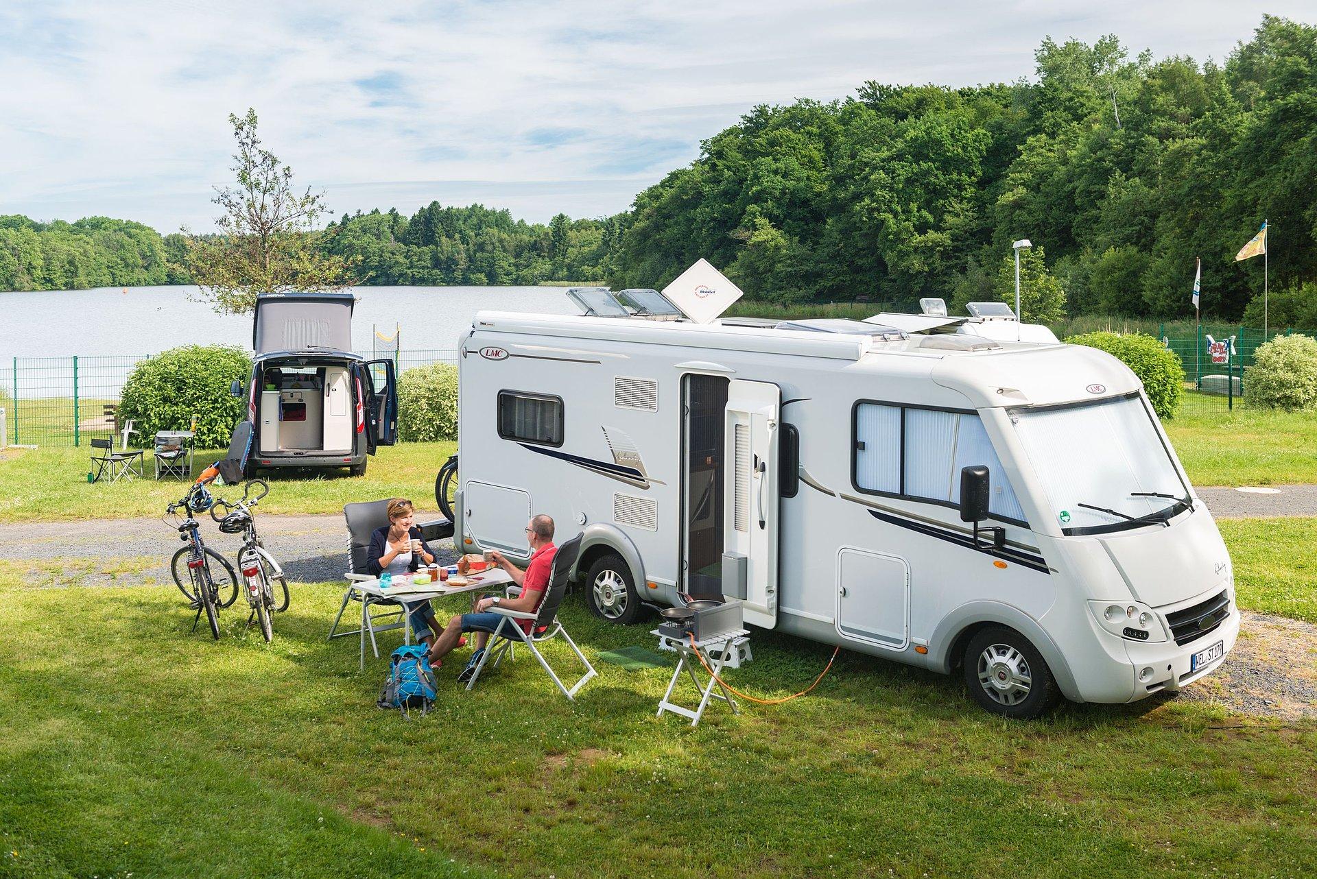 Camping im Westerwald