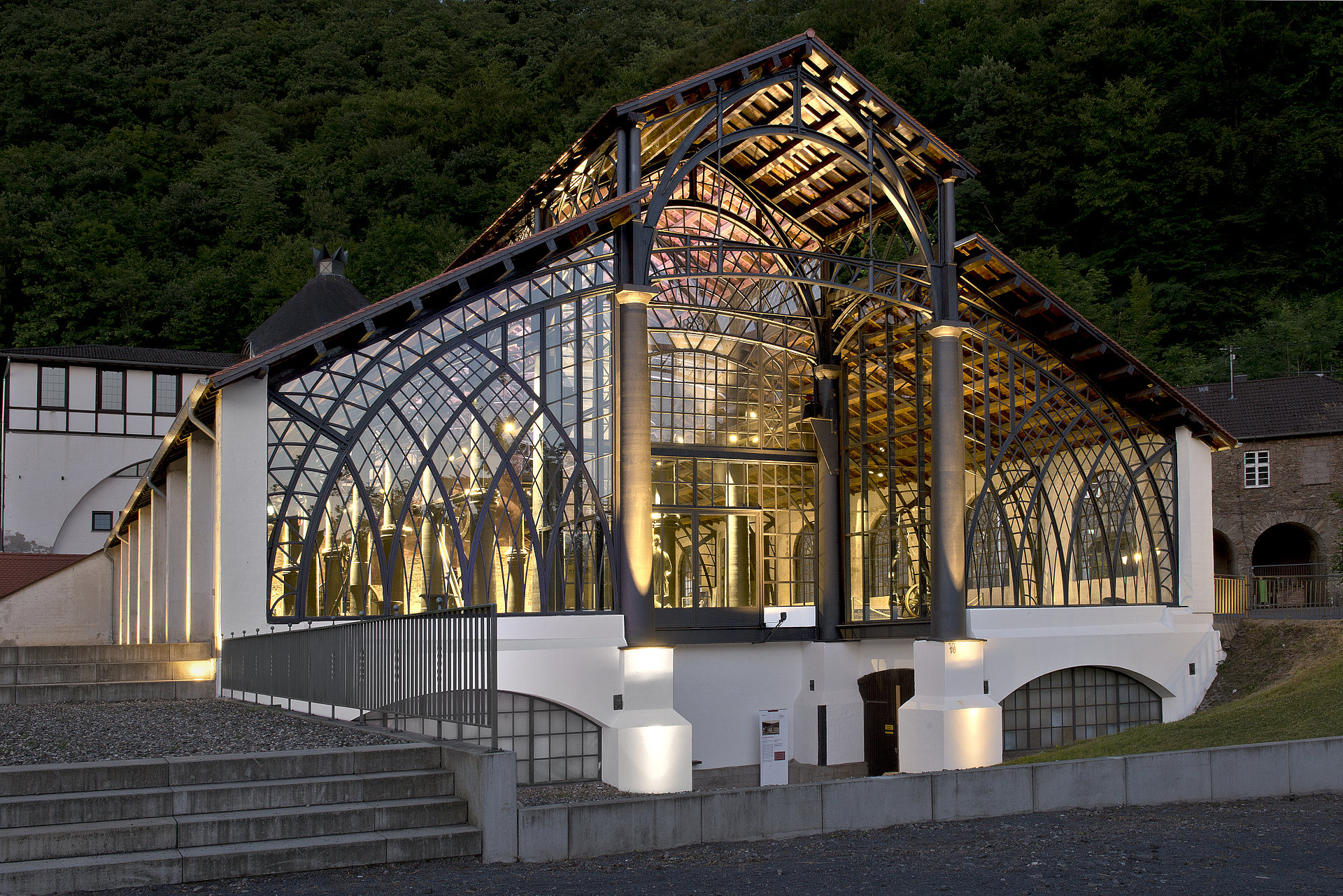 Gießhalle der Sayner Hütte in Bendorf-Sayn, Romantischer Rhein