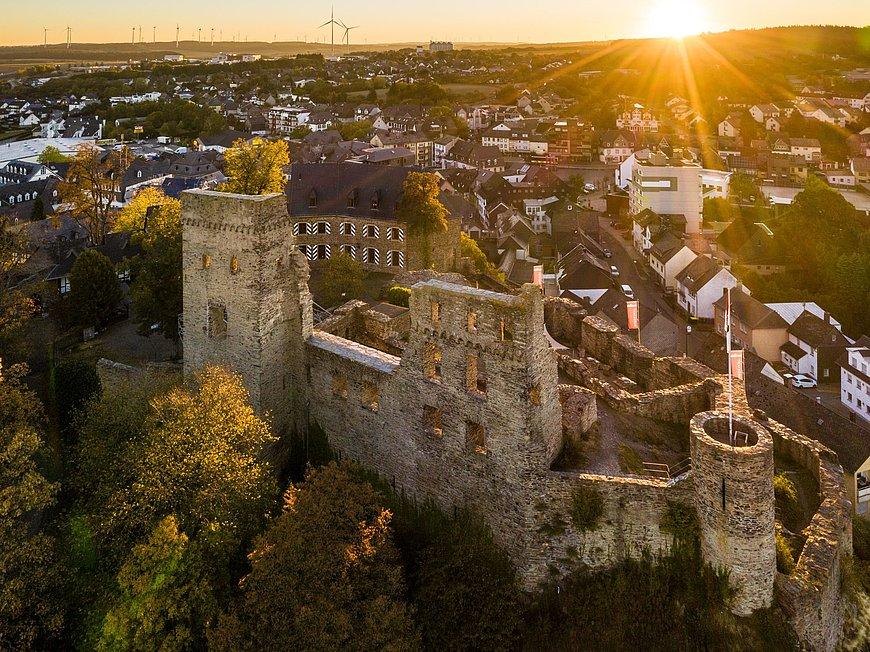 De kasteel Kastellaun, Hunsrück