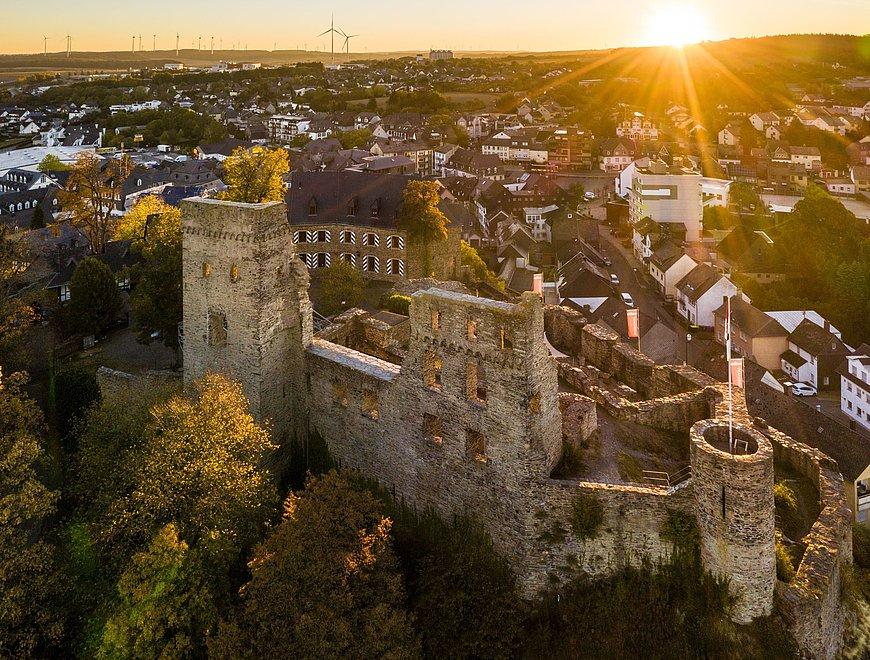Château de Kastellaun à Kastellaun, Hunsrück