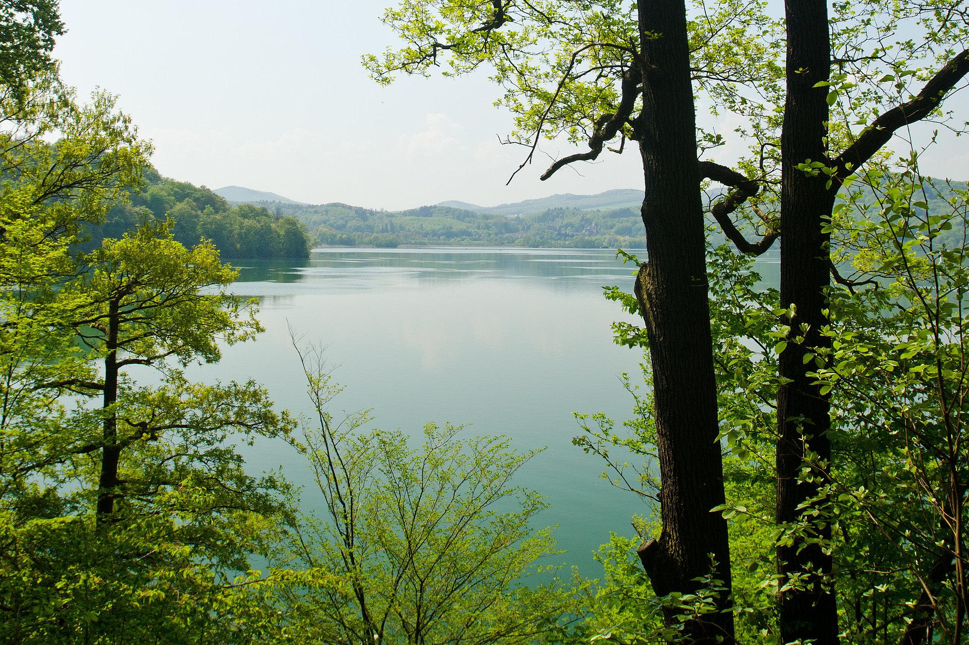 Lake Laach at Maria Laach, Eifel