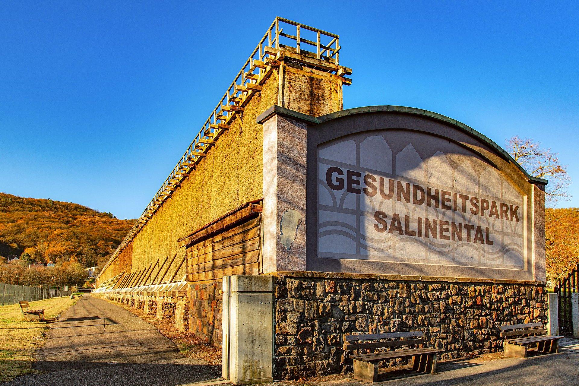 Gradeerwerk in het Gezondheidspark Salinendal Bad Kreuznach, Nahe-regio