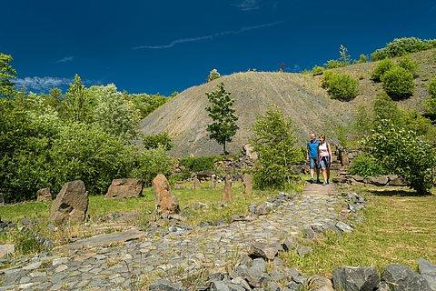 Spaziergang im Stöffel-Park im Nationalem Geopark Westerwald-Lahn-Taunus