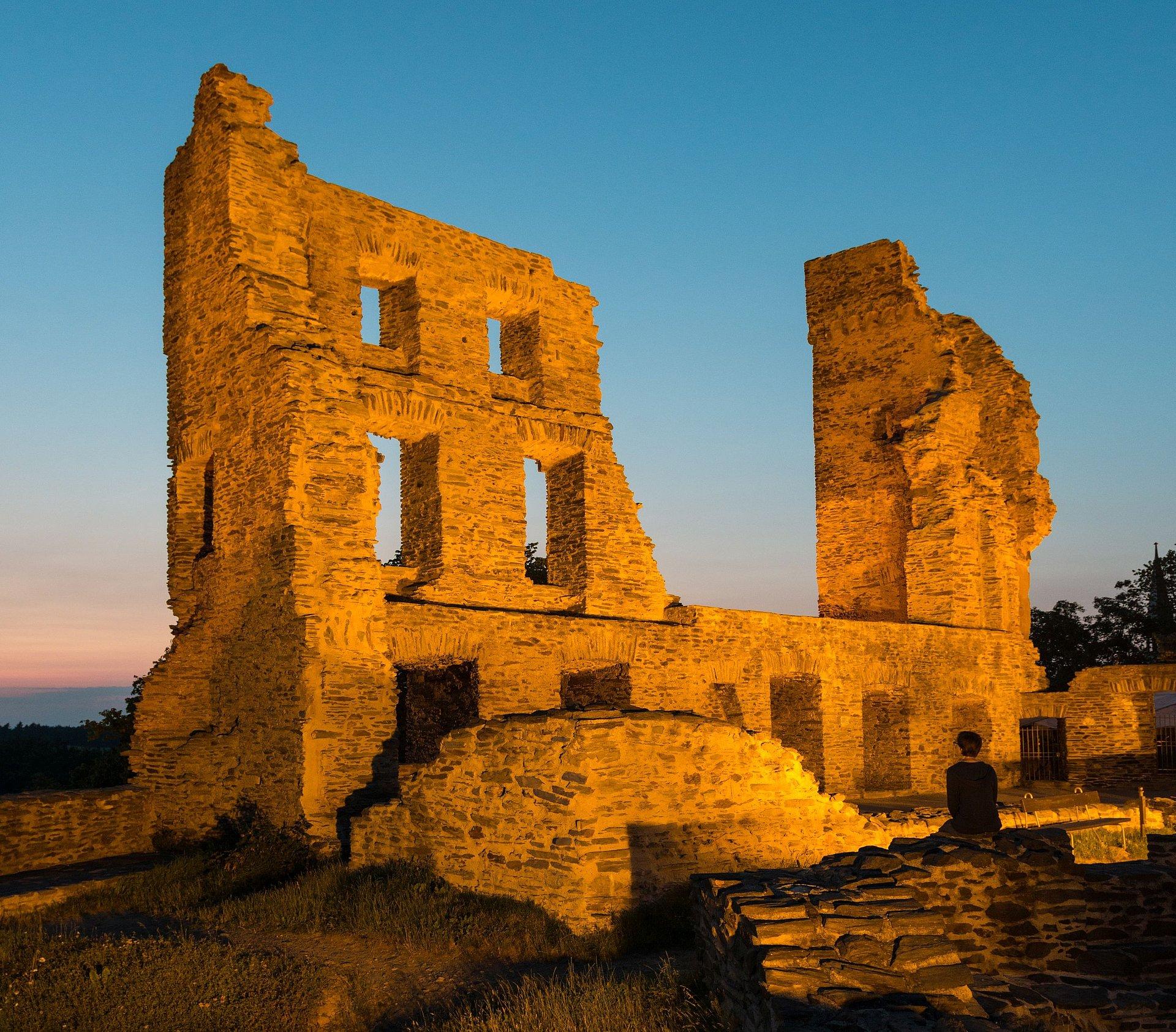 Burg Kastellaun in Kastellaun, Hunsrück