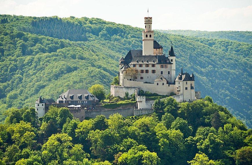 Marksburg in Braubach, Romantischer Rhein