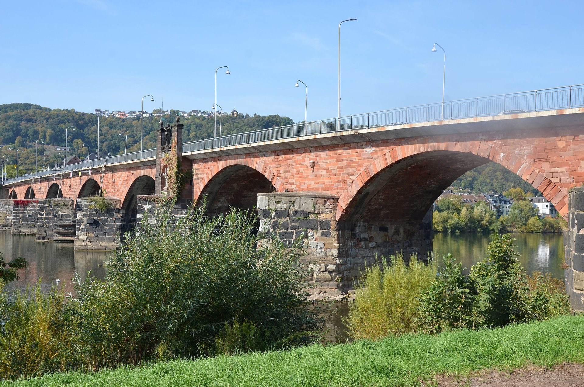 The Roman Bridge in Trier, Moselle