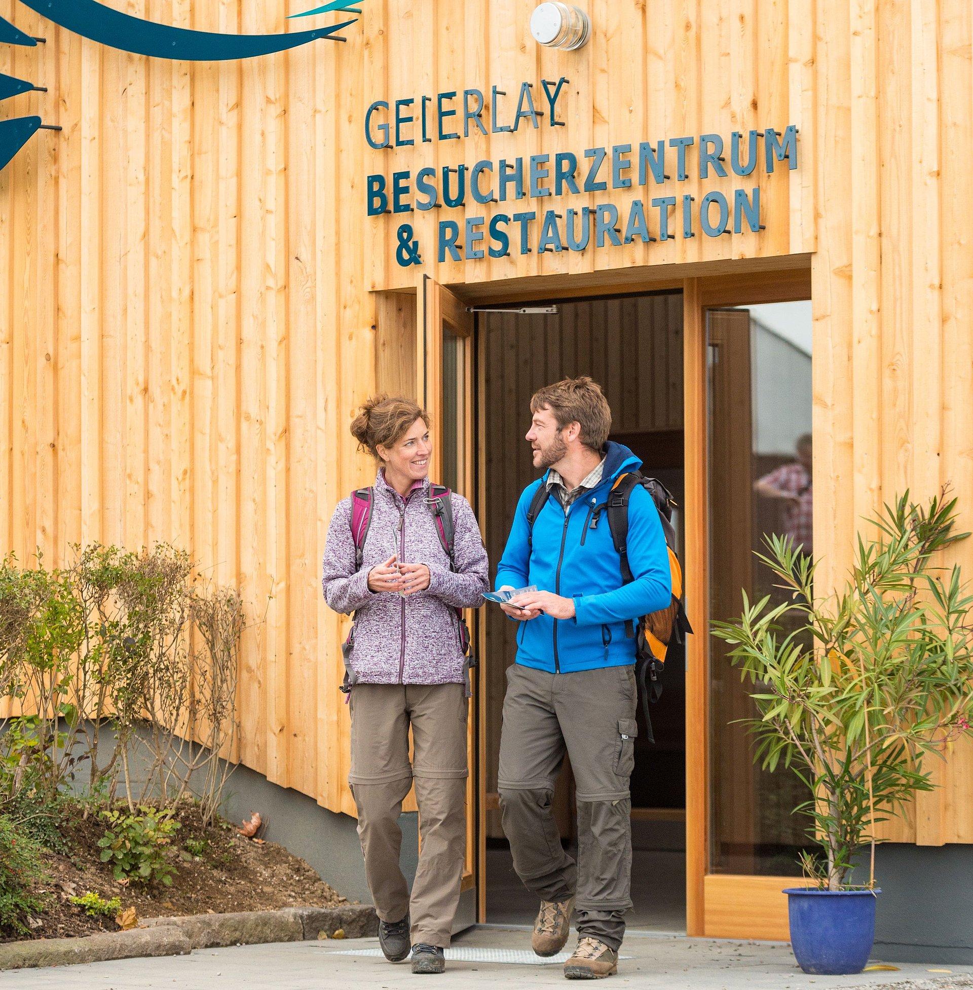 Geierlay visitor centre in Mörsdorf, Hunsrück