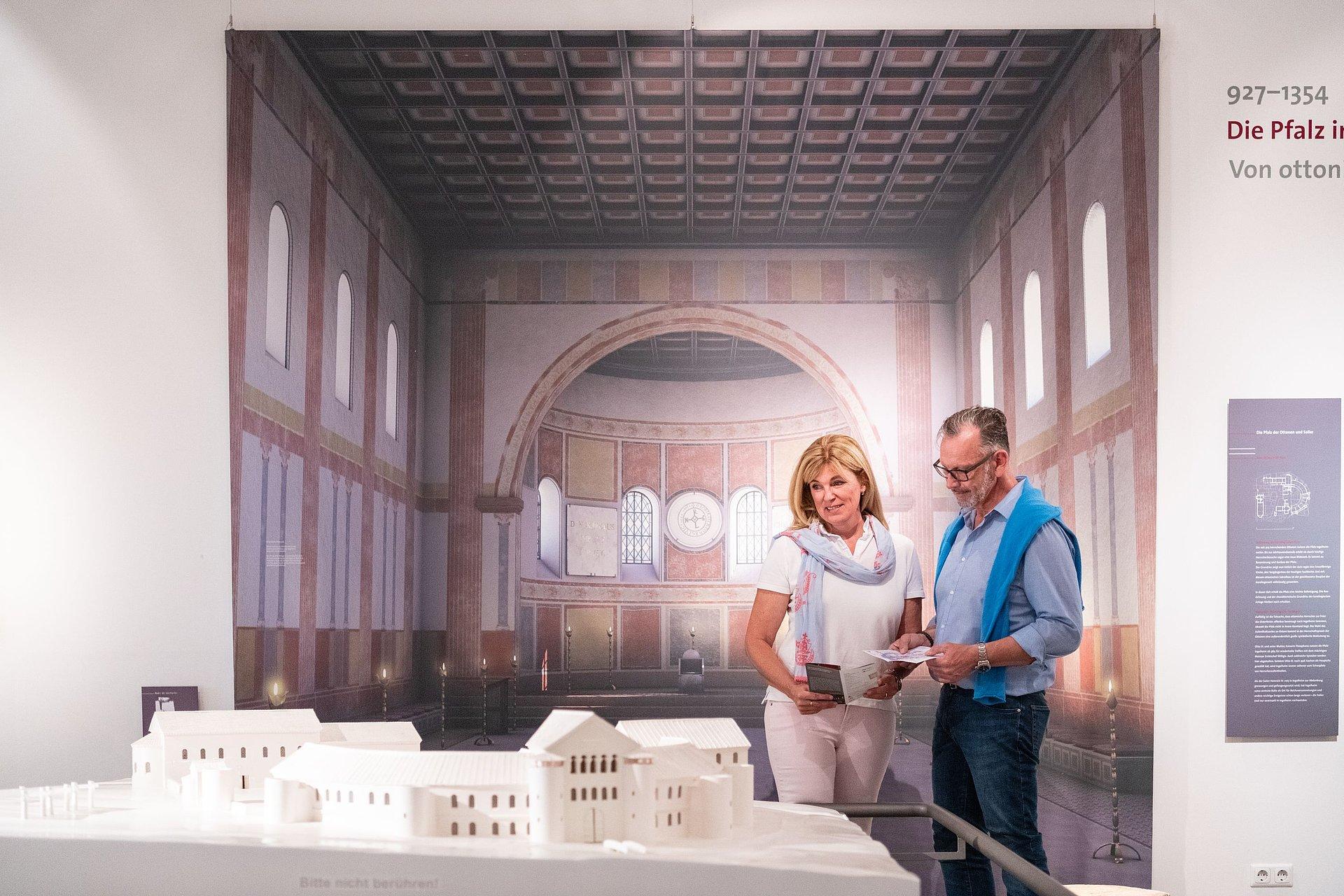 Museum bei der Kaiserpfalz Ingelheim, Rheinhessen