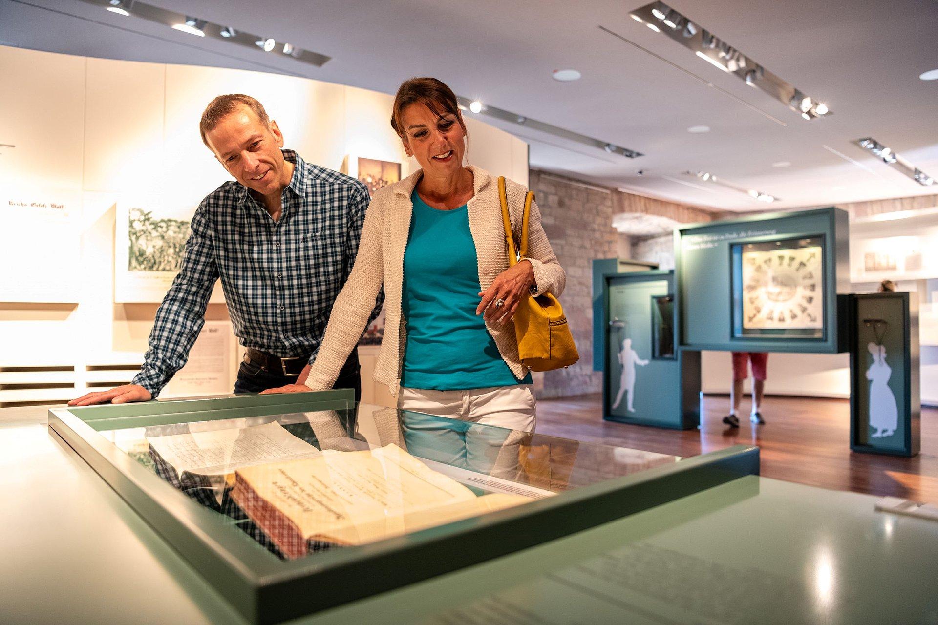 Dauerausstellung des Hambacher Schlosses, Pfalz