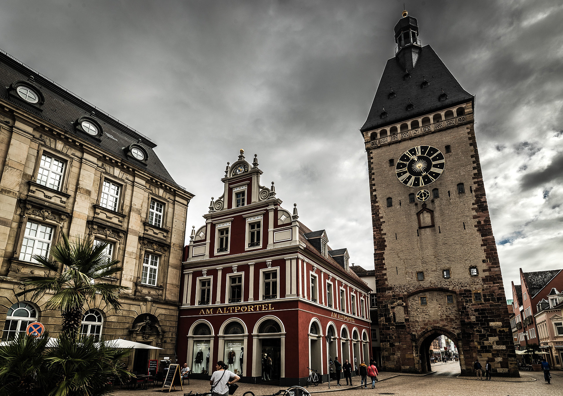 Das Altpörtel in Speyer, Pfalz