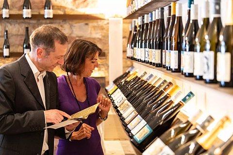 Besuch eines Weinguts in Deidesheim, Pfalz