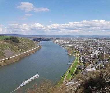 La ville d'Andernach, Rhin romantique