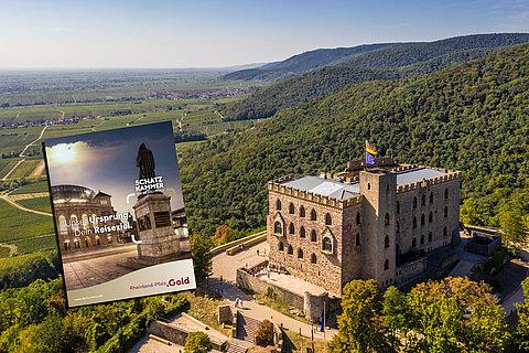Hambacher Schloss in Neustadt an der Weinstraße, Pfalz
