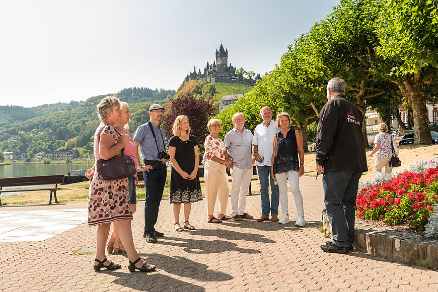 Guided tour in Cochem, Moselle