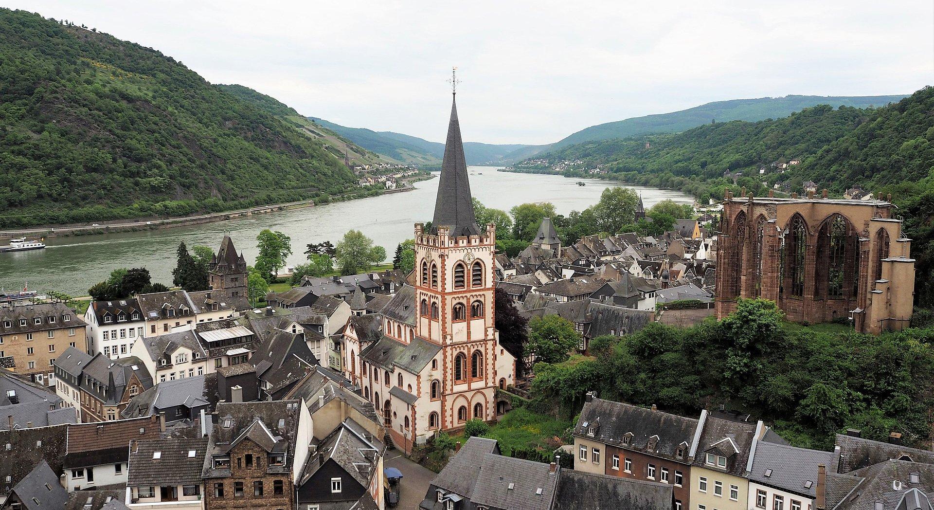 Bacharach, Romantischer Rhein