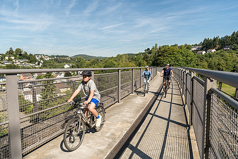 Radtour auf dem Maare-Mosel-Radweg Daun, Eifel