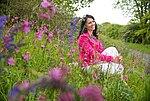 Blumenwiese im Frühling, Romantischer Rhein