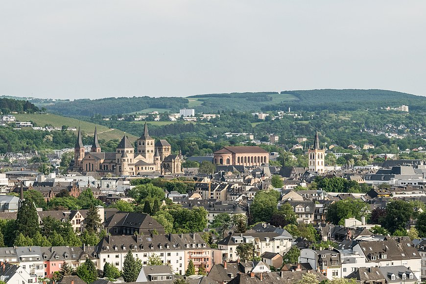 View of Trier, Moselle