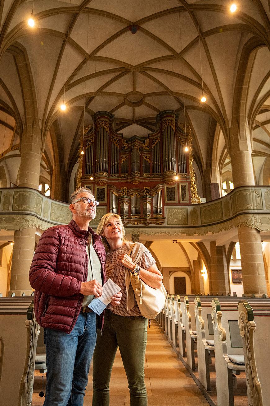 Besichtigung Schlosskirche Meisenheim, Nahe