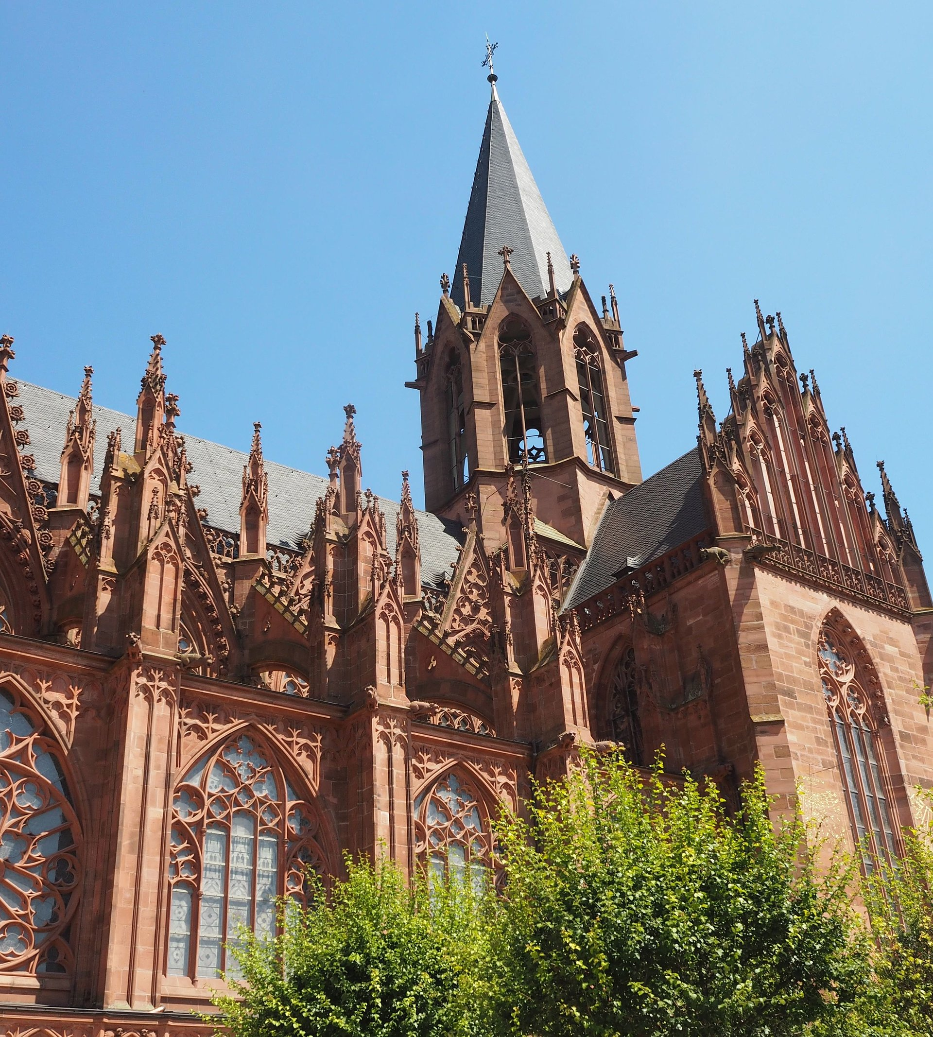 Église Sainte-Catherine à Oppenheim, Hesse rhénane