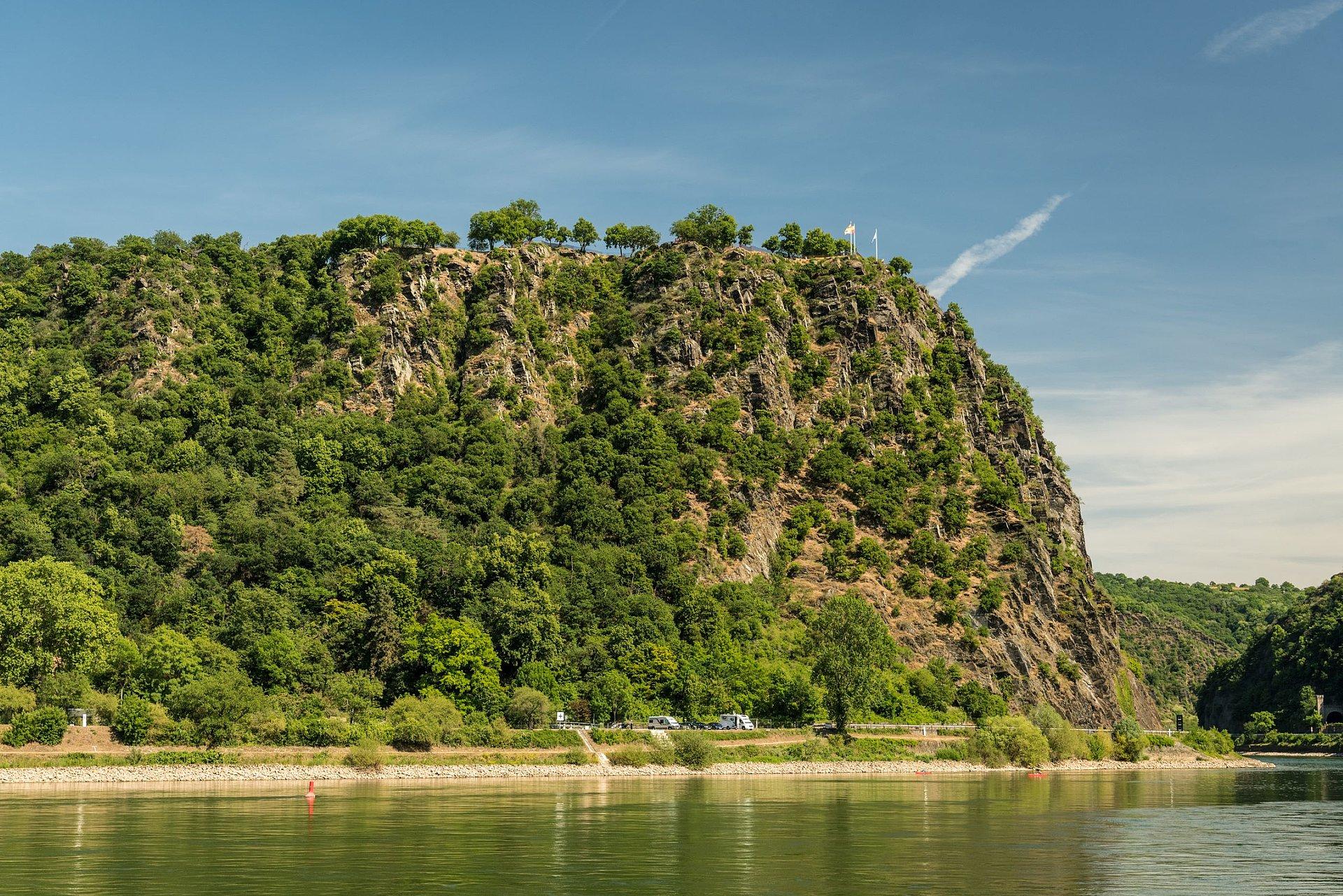 Loreley-Fels bei St. Goarshausen, Romantischer Rhein