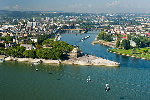 Stedentrip naar de Romantic Cities, Koblenz