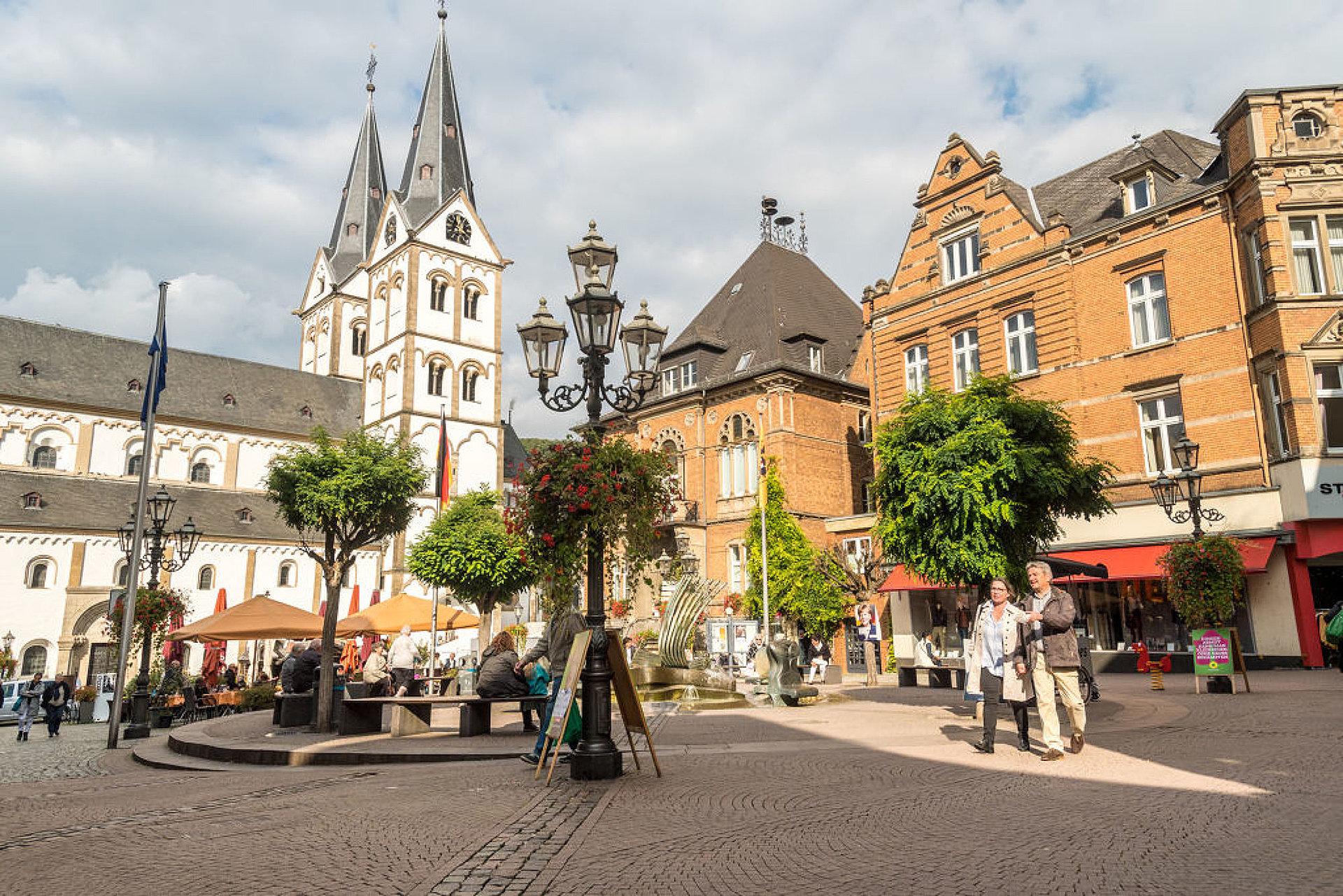 Ein Spaziergang in Boppard, Romantischer Rhein