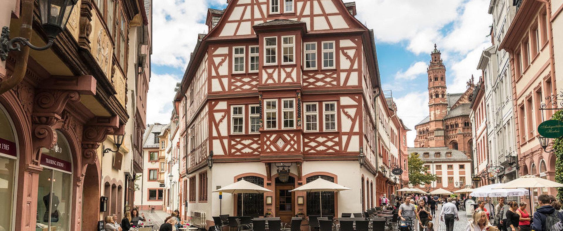Die Altstadt von Mainz, Rheinhessen