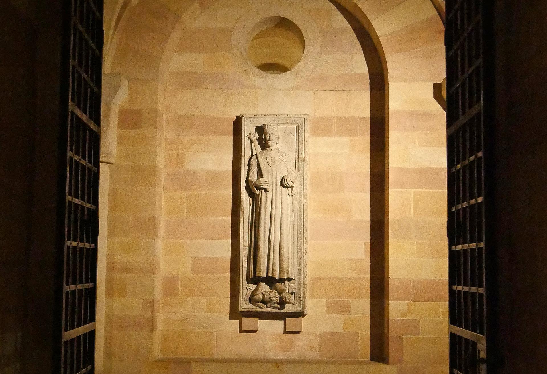 Monumentale Fresken im Speyerer Dom, Pfalz