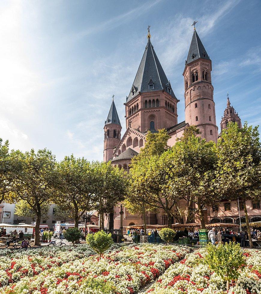 Keizerlijke kathedraal Sint-Maarten in Mainz, Rijn-Hessen
