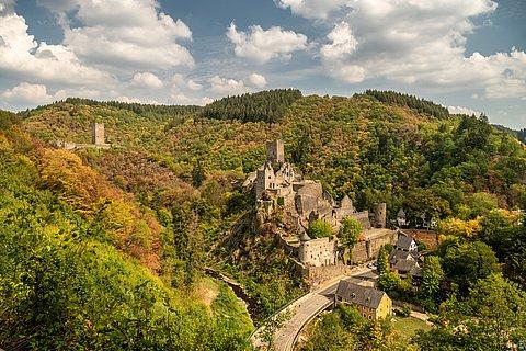 Manderscheider Burgen, Eifel
