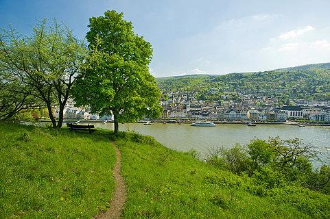Blick auf Boppard, Romantischer Rhein