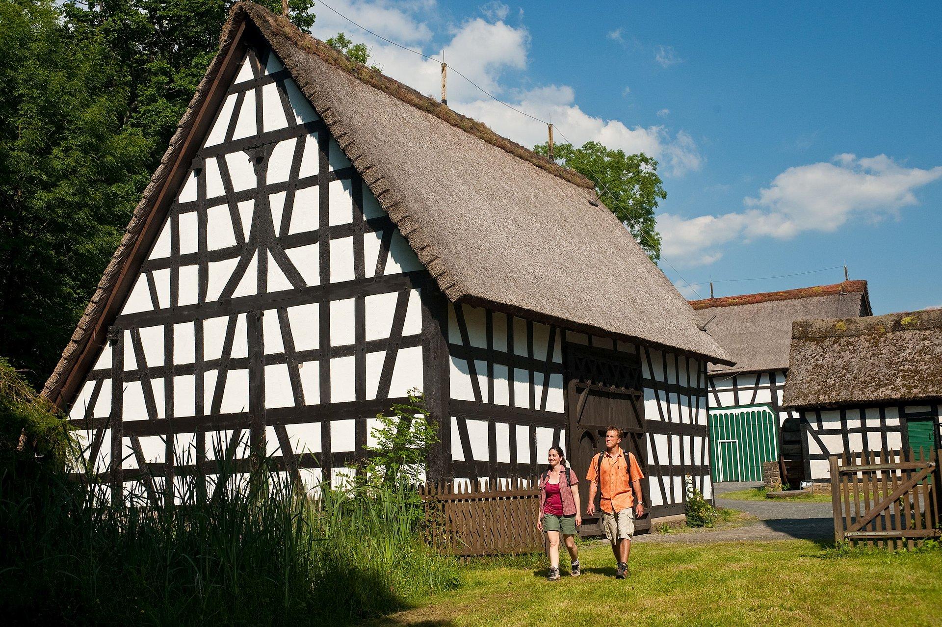 Besuch beim Landschaftsmuseum Westerwald Hachenburg, Westerwald
