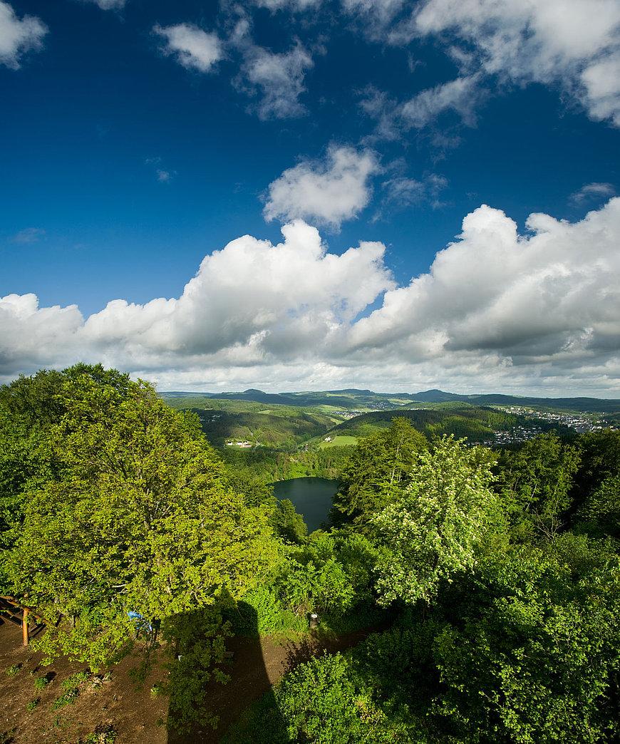 Gemündener Maar bij Daun, Eifel