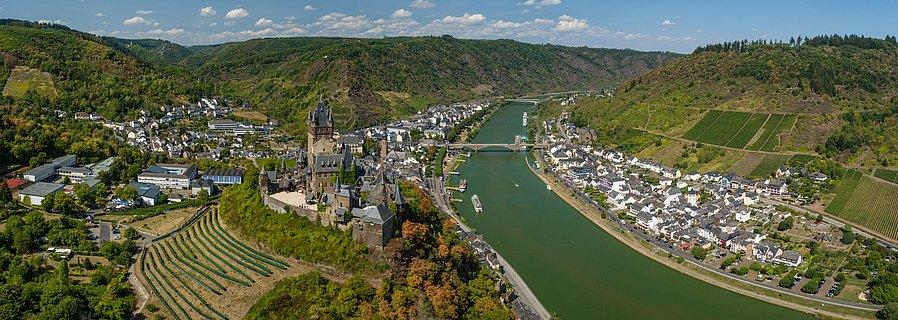 Cochem, vallée de la Moselle