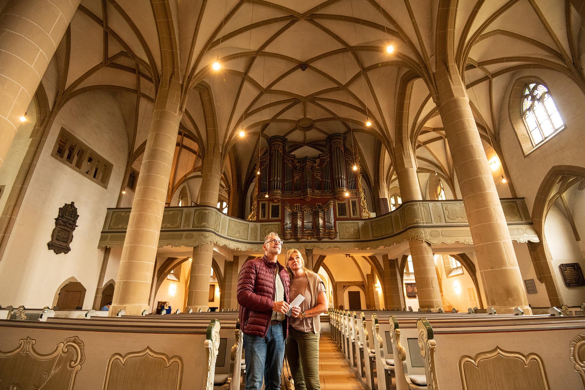 Innenraum der Schlosskirche Meisenheim, Nahe