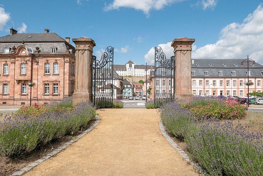 Barockes Stadtbild von Blieskastel, Saarland