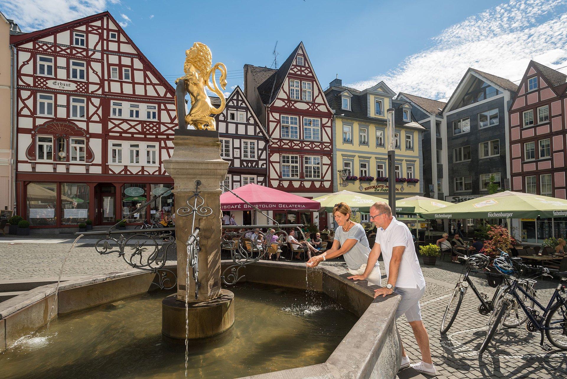 Marktplatz Hachenburg, Westerwald